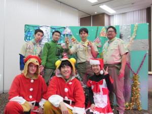 ベンチャー隊・ローバー隊(2018年12月撮影)