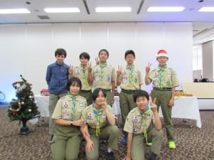 ボーイ隊(2019年12月撮影)